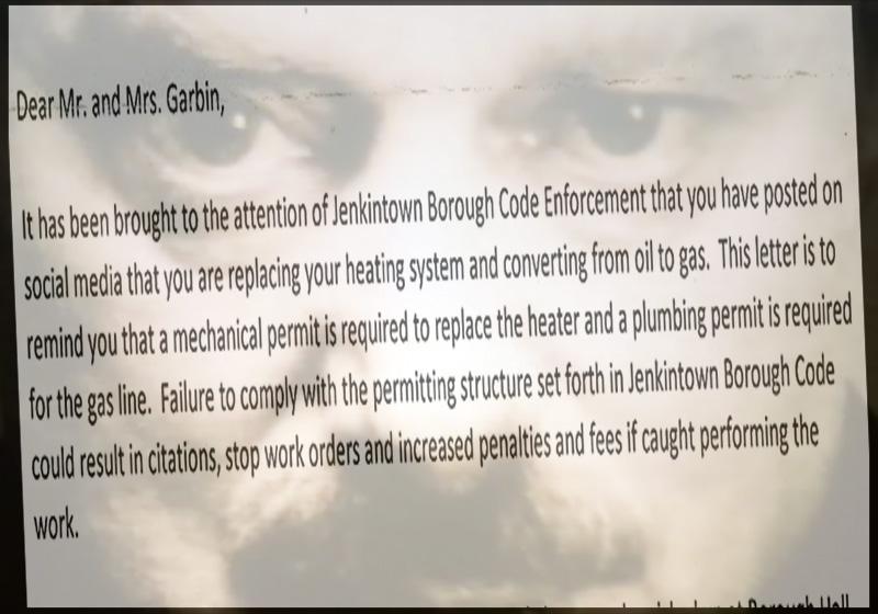 Big Brother Code Enforcement